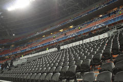 Donbass Arena stadium an hour before the match Stock Image