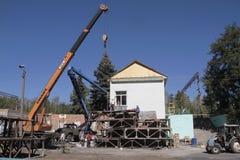Donbass, Ucrânia foto de stock royalty free
