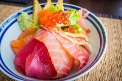 Donburi di Tekka/alimento giapponese Fotografie Stock