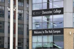 Doncaster College Stock Image