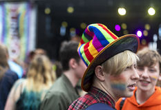 Doncaster dumy 19 Aug 2017 LGBT festiwal Fotografia Stock