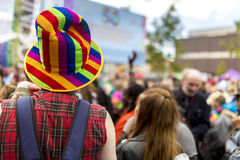 Doncaster dumy 19 Aug 2017 LGBT festiwal Obraz Royalty Free