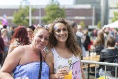 Doncaster dumy 19 Aug 2017 LGBT festiwal obraz stock