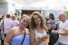 Doncaster dumy 19 Aug 2017 LGBT festiwal obrazy stock