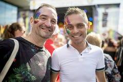 Doncaster dumy 19 Aug 2017 LGBT festiwal Zdjęcie Royalty Free