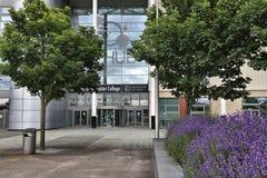 Doncaster högskola UK royaltyfria bilder