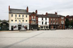 Doncaster - Market Place Royalty Free Stock Photography