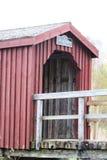 Doncaster som går bron Arkivbilder