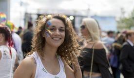 Doncastertrots 19 het Festival van Augustus 2017 LGBT royalty-vrije stock foto