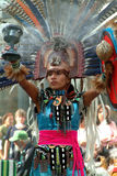 Doncella india mexicana Fotografía de archivo libre de regalías
