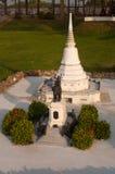 Donchedi纪念碑在微型泰国公园 免版税库存图片