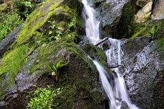 Dondalen Waterfall bornholm Stock Image