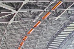 Dondass-Arena stadium heating system Royalty Free Stock Images