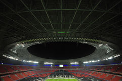 Dondass-Arena stadium top view Stock Image
