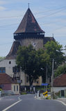 Done of Axente Server Church in Frauendorf, Romania Royalty Free Stock Images