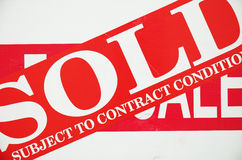 Done deal. Business deal done - subject to contract of course royalty free stock photo