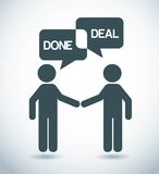 Done deal Stock Images