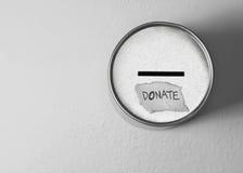 Done el rectángulo en gris imagen de archivo libre de regalías