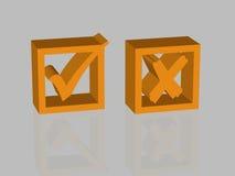 Done - icon - 3D Stock Photos