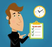 Done Todo List Royalty Free Stock Photos