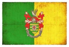 Donegal爱尔兰难看的东西旗子  免版税库存照片