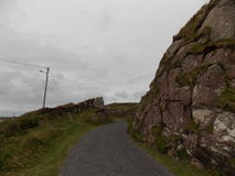 Donegal高速公路 免版税库存照片