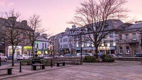 Donegal, Irlanda - 28 de febrero de 2019: La ciudad de Donegal es el pueblo principal del condado Donegal metrajes