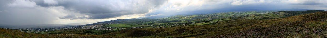 Donegal landskap, Irland arkivbild