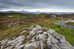 Donegal rugged landscape Stock Images