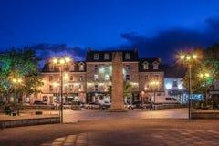 Donegal staddiamant Abbey Hotel Ståndsmässiga Donegal ireland Royaltyfri Fotografi