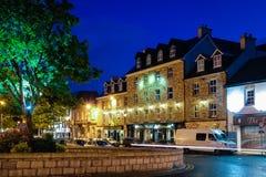 Donegal staddiamant Abbey Hotel Ståndsmässiga Donegal ireland Arkivfoton