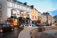 Donegal staddiamant Ståndsmässiga Donegal ireland arkivfoton