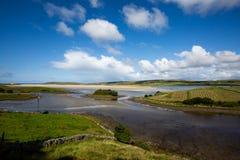 Donegal-Sumpfgebiet lizenzfreie stockfotografie
