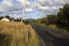 Donegal Wewnętrzna droga Fotografia Stock