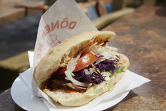 doner食物kebab传统土耳其 库存图片