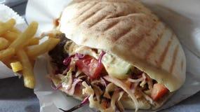 doner παραδοσιακός Τούρκος τροφίμων kebab Στοκ Εικόνες