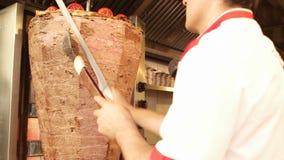 doner karmowego kebab tradycyjny turkish zbiory wideo