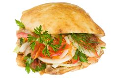 Doner kebab. Stock Photography