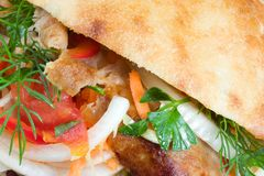 Doner kebab. Stock Images