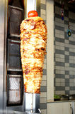 Doner Kebab. Chicken doner kebab ready to serve Royalty Free Stock Images