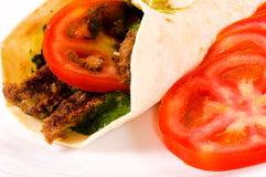 Doner kebab Royalty Free Stock Photography