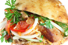 Doner kebab. Royalty Free Stock Photos