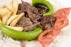 Doner kebab detail Stock Photo
