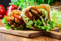 how to make chicken doner kebab meat