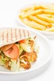 Doner kebab Royalty Free Stock Photography