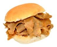 Doner Kebab Mięsna kanapka zdjęcia royalty free