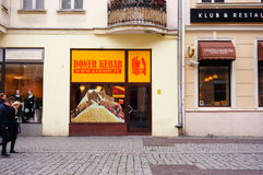 Doner Kebab restaurant Stock Photography