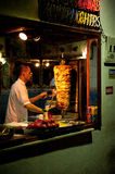 Doner kebab vendor Turkey Stock Photos