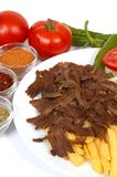 Doner kebap Royalty Free Stock Photo