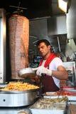 Doner Kebap en Estambul Imagen de archivo libre de regalías